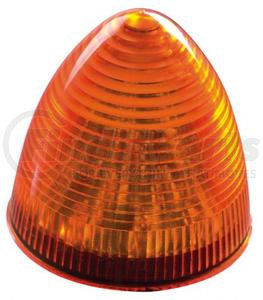 "1825-1A by ROADMASTER - AMBER 13 LED 2.5"" BEEHIVE"