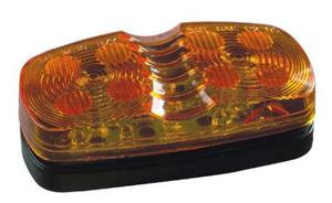 1826-2A by ROADMASTER - AMBER 12 LED  MARKER LIGHT