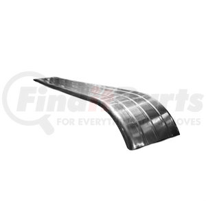 """1102 by QUALITY TRAILER PRODUCTS - 25""""X139"""" .090 ALUM/FEND GROOVE DWN"""