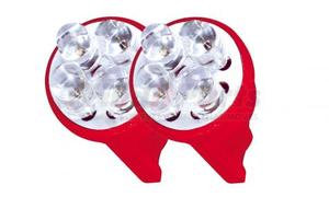 1962R by ROADMASTER - RED 4 LED 194 BULBS