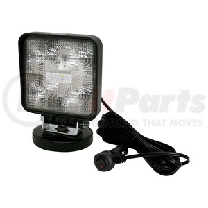 E92007MG by ECCO - Five 3W LEDs, Flood Light, Magnet Mount