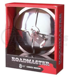 """4082S by ROADMASTER - 8-1/2"""" SS CONVEX MIRROR"""