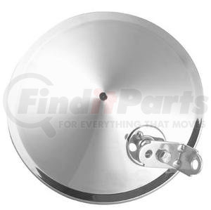 4083S by ROADMASTER - SS CONVEX MIRROR, POINTED BACK
