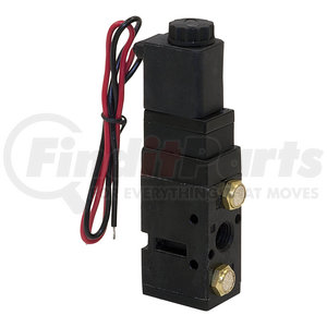 BAV050SA by BUYERS PRODUCTS - 4-Way 2-Position Solenoid Air Valve With Five 1/4 Inch NPT Ports