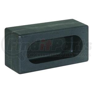 LB383P by BUYERS PRODUCTS - Single Oval Light Box Black Polyethylene
