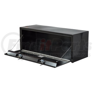 1704315 by BUYERS PRODUCTS - 24x24x60 Inch Black Steel Underbody Truck Box