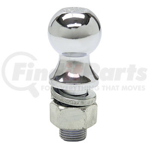 1802025 by BUYERS PRODUCTS - 2-5/16 Inch Chrome Hitch Ball With 1-1/4 Inch Shank Diameter x 2-3/4 Inch Long