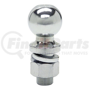 1802026 by BUYERS PRODUCTS - 2-5/16 Inch Chrome Hitch Ball With 1 Inch Shank Diameter x 2-1/8 Inch Long