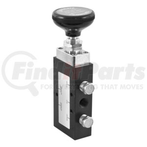 BAV020 by BUYERS PRODUCTS - 4-Way 3-Position Manual Air Valve With Five 1/4 Inch NPT Ports