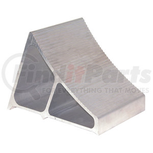 WC7118A by BUYERS PRODUCTS - Large Extruded Aluminum Wheel Chock 7x10.75x7.8 Inch