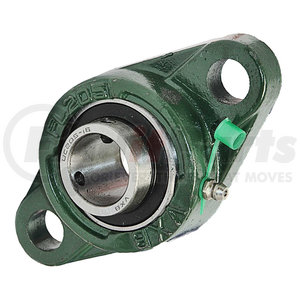 2F16 by BUYERS PRODUCTS - 1 Inch Shaft Diameter Eccentric Locking Collar Style Flange Bearing - 2 Hole