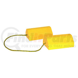 WC9642Y by BUYERS PRODUCTS - Composite Wheel Chock Set
