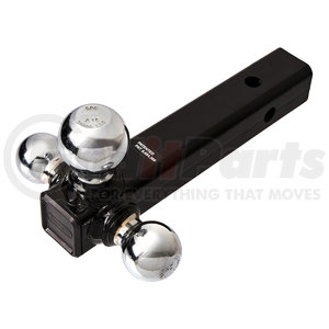 1802207 by BUYERS PRODUCTS - Tri-Ball Hitch Tubular Shank With Chrome Balls