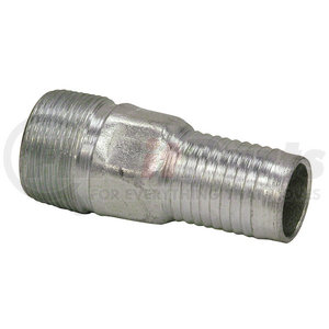 BHRPS6x5 by BUYERS PRODUCTS - Zinc Plated Combination Nipple 1-1/2 Inch NPT x 1-1/4 Inch Hose Barb