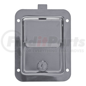L3885 by BUYERS PRODUCTS - Stainless Steel Single Point Locking Paddle Latch - Thru-Hole Mount