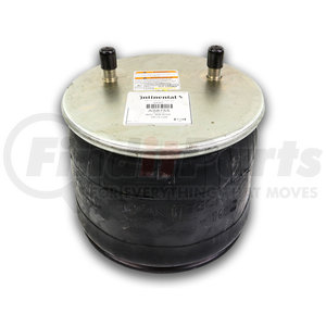 """AS8755 by CONTITECH - Air Spring for Hendrickson - Rolling Lobe - Base Height: 5.60"""" -  Min Max Height: 7.20""""– 19.70"""""""