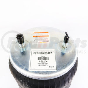 """AS8204 by CONTITECH - Air Spring for Neway - Rolling Lobe - Base Height: 2.83"""" -  Min Max Height: 4.40""""– 14.00"""""""