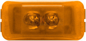 153A by PETERSON LIGHTING - 153 SeriesLED Clearance/Side Marker Light - Amber, 2-Diode