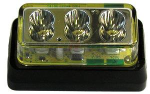153SC-1 by PETERSON LIGHTING - 153S Series Piranha® LED Ultra-Mini Strobing Lights - White, Type 1
