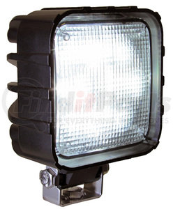 909-MV by PETERSON LIGHTING - 909-MV Great White® LED Pedestal-Mount Work Light - Square
