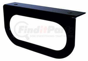"421-09 by PETERSON LIGHTING - MOUNTING BRACKET BLACK FOR 6"" OVAL LIGHT"