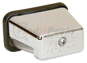 436SX by PETERSON LIGHTING - 436X Chrome, Stud-Mount License Plate Light - Clear