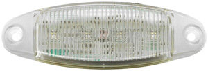 M178W-MV by PETERSON LIGHTING - OVAL WHITE LED ACCESSORY/AUXILIARY LIGHT BULK PACK