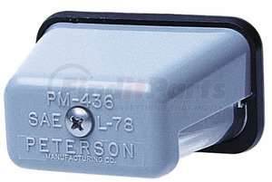 M400 by PETERSON LIGHTING - 400 License Plate Light - Clear