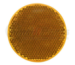 B481A by PETERSON LIGHTING - 481 Round Quick-Mount Reflector - Amber
