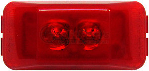 M153R by PETERSON LIGHTING - 153 SeriesLED Clearance/Side Marker Light - Red, 2-Diode
