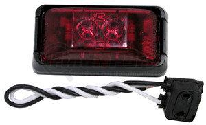 V153KR by PETERSON LIGHTING - 153 SeriesLED Clearance/Side Marker Light - Red Kit, 2-Diode