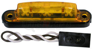 V167KA by PETERSON LIGHTING - 167 Series Piranha® LED Thin line Clearance and Side Marker Light - Amber Kit