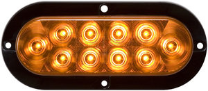 STL78AB by OPTRONICS - Yellow parking/rear turn signal