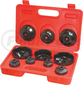 26400 by CTA TOOLS - 10 Piece Cup Type  Oil Filter Wrench Set