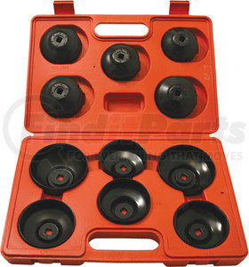 96950 by CTA TOOLS - 11 Piece Cup Type  Oil Filter Wrench Set