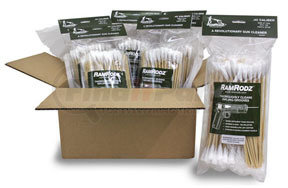 45075 by INNOVATIVE PRODUCTS OF AMERICA - .45 Caliber RamRodz Bag (75 Per Bag), 6 pk