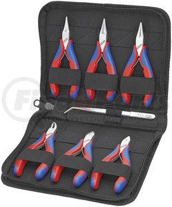 2016 by KNIPEX - 6Pc tool set in zipper pouch