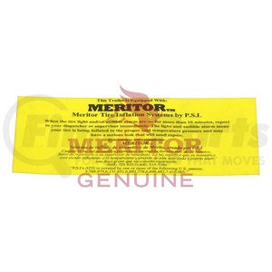 3226100 by MERITOR - Meritor Genuine - DECAL