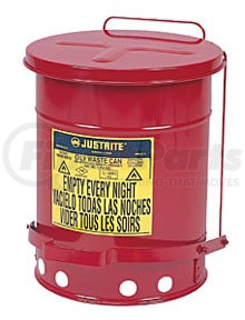 09500 by JUSTRITE - 14 Gal Oily Waste Can