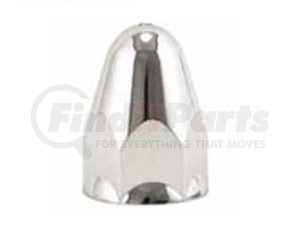 18012 by AMERICAN CHROME - 1.5IN ABS NUT COVER W/SMALL FL