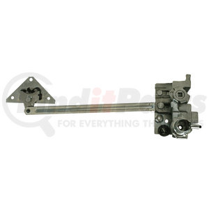 B21013WL by UNITED PACIFIC - 1932-34 Ford Truck Lefthand Door Latch with Lock Receiver Option