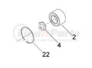 995550 by HORTON - Repair Kit Fan Clutch Bearing
