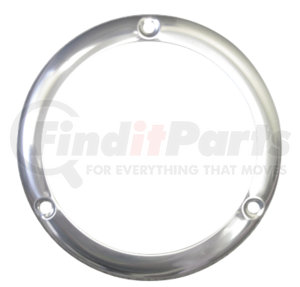 A101TRSSB by OPTRONICS - Stainless steel trim ring for STL/BUL101 flange mount lights