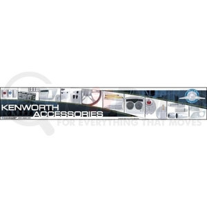 99033 by UNITED PACIFIC - Kenworth Fixture/Header Sign