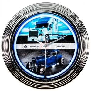 99049 by UNITED PACIFIC - Neon Wall Clock