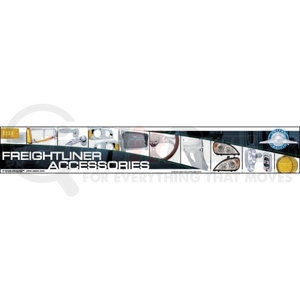 99034 by UNITED PACIFIC - Freightliner Header Sign