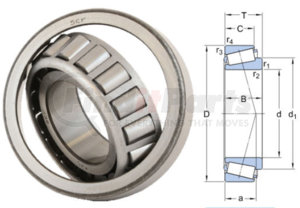 32928 by SKF - BRG SET 190MM OD