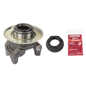 132863K by WORLD AMERICAN - END YOKE ASSY WITH LOCK NUT