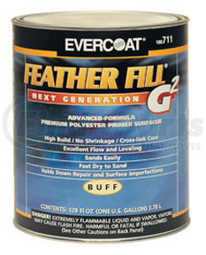 715 by FIBRE GLASS-EVERCOAT - FeatherFill® G2™, Black, 1-Gallon
