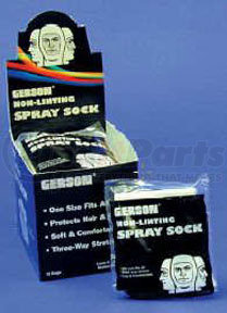 70295 by GERSON - Non-Linting Spray Sock